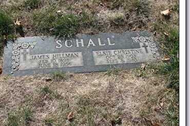 SCHALL, JAMES HILLMAN - Douglas County, Nebraska | JAMES HILLMAN SCHALL - Nebraska Gravestone Photos