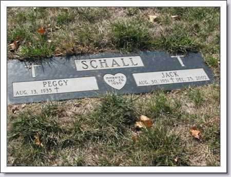 SCHALL, JACK - Douglas County, Nebraska | JACK SCHALL - Nebraska Gravestone Photos