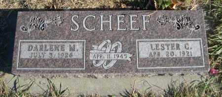 SCHEEF, DARLENE M. - Douglas County, Nebraska | DARLENE M. SCHEEF - Nebraska Gravestone Photos