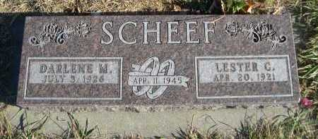 SCHEEF, LESTER C. - Douglas County, Nebraska | LESTER C. SCHEEF - Nebraska Gravestone Photos