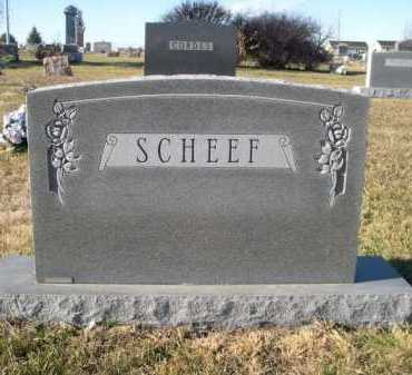 SCHEEF, FAMILY - Douglas County, Nebraska | FAMILY SCHEEF - Nebraska Gravestone Photos