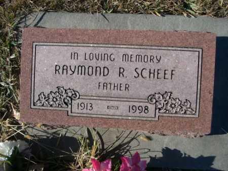 SCHEEF, RAYMOND R. - Douglas County, Nebraska | RAYMOND R. SCHEEF - Nebraska Gravestone Photos