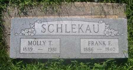 SCHLEKAU, MOLLY T. - Douglas County, Nebraska   MOLLY T. SCHLEKAU - Nebraska Gravestone Photos