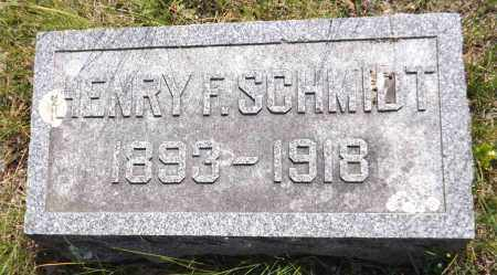 SCHMIDT, HENRY F. - Douglas County, Nebraska | HENRY F. SCHMIDT - Nebraska Gravestone Photos
