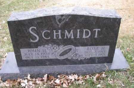 SCHMIDT, ROSE H. - Douglas County, Nebraska | ROSE H. SCHMIDT - Nebraska Gravestone Photos