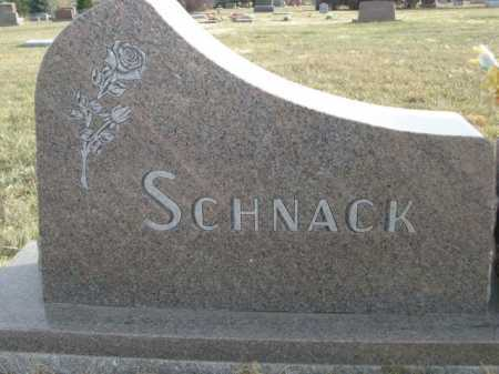 SCHNACK, FAMILY - Douglas County, Nebraska | FAMILY SCHNACK - Nebraska Gravestone Photos