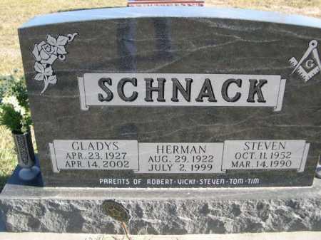 SCHNACK, HERMAN - Douglas County, Nebraska | HERMAN SCHNACK - Nebraska Gravestone Photos