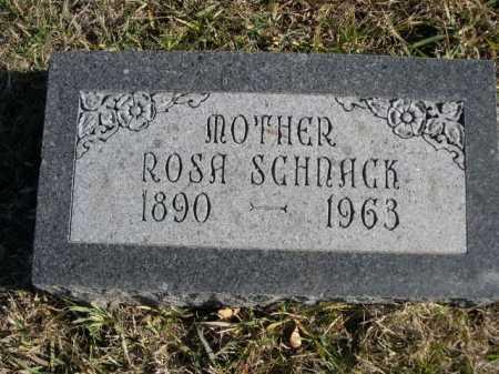 SCHNACK, ROSA - Douglas County, Nebraska | ROSA SCHNACK - Nebraska Gravestone Photos