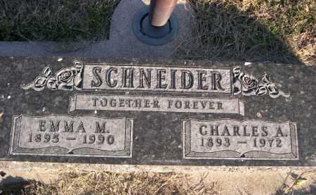 SCHEIDER, CHARLES A. - Douglas County, Nebraska | CHARLES A. SCHEIDER - Nebraska Gravestone Photos