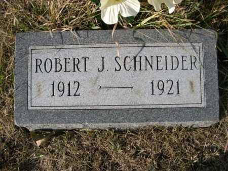 SCHNEIDER, ROBERT J. - Douglas County, Nebraska | ROBERT J. SCHNEIDER - Nebraska Gravestone Photos