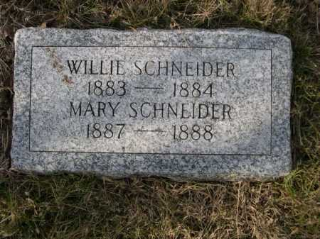 SCHNEIDER, MARY - Douglas County, Nebraska | MARY SCHNEIDER - Nebraska Gravestone Photos