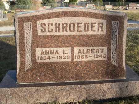 SCHROEDER, ANNA L. - Douglas County, Nebraska | ANNA L. SCHROEDER - Nebraska Gravestone Photos