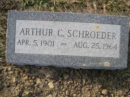 SCHROEDER, ARTHUR C. - Douglas County, Nebraska | ARTHUR C. SCHROEDER - Nebraska Gravestone Photos
