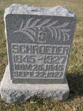 SCHROEDER, E. - Douglas County, Nebraska | E. SCHROEDER - Nebraska Gravestone Photos