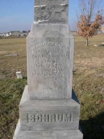 SCHRUM, WIFE OF CLAUS - Douglas County, Nebraska | WIFE OF CLAUS SCHRUM - Nebraska Gravestone Photos