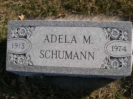 SCHUMANN, ADELA M. - Douglas County, Nebraska | ADELA M. SCHUMANN - Nebraska Gravestone Photos