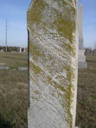SCHUMANN, AUGUSTA - Douglas County, Nebraska   AUGUSTA SCHUMANN - Nebraska Gravestone Photos