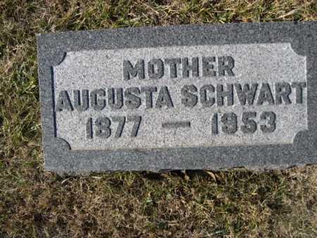 SCHWART, AUGUSTA - Douglas County, Nebraska | AUGUSTA SCHWART - Nebraska Gravestone Photos
