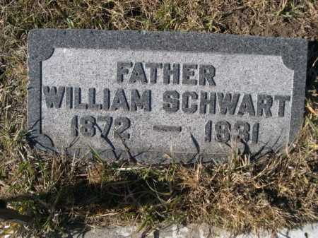 SCHWART, WILLIAM - Douglas County, Nebraska | WILLIAM SCHWART - Nebraska Gravestone Photos