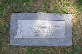 SCOTT, KEVIN MARK - Douglas County, Nebraska | KEVIN MARK SCOTT - Nebraska Gravestone Photos