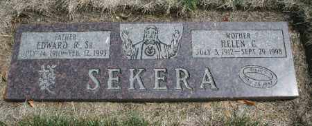 SEKERA, HELEN C. - Douglas County, Nebraska   HELEN C. SEKERA - Nebraska Gravestone Photos