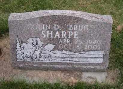 "SHARPE, COLIN D. ""BRUG"" - Douglas County, Nebraska   COLIN D. ""BRUG"" SHARPE - Nebraska Gravestone Photos"