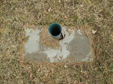 SHAW, TERAH MAE - Douglas County, Nebraska | TERAH MAE SHAW - Nebraska Gravestone Photos