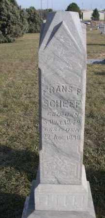 SHEEF, FRANS F. - Douglas County, Nebraska | FRANS F. SHEEF - Nebraska Gravestone Photos