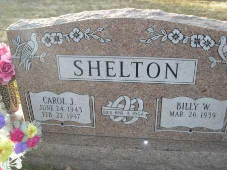 SHELTON, CAROL J. - Douglas County, Nebraska | CAROL J. SHELTON - Nebraska Gravestone Photos