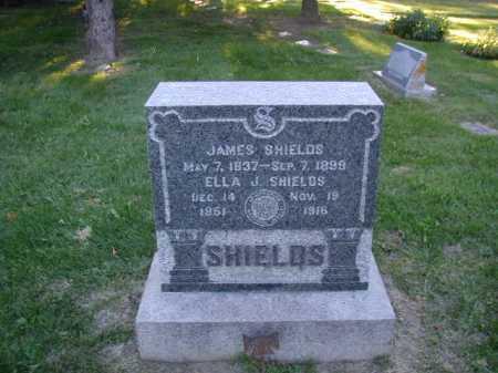 SHIELDS, ELLA J - Douglas County, Nebraska | ELLA J SHIELDS - Nebraska Gravestone Photos