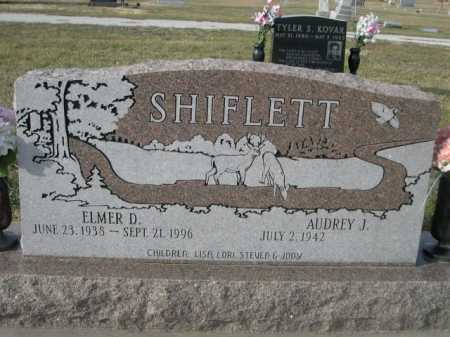 SHIFLETT, AUDREY J. - Douglas County, Nebraska | AUDREY J. SHIFLETT - Nebraska Gravestone Photos
