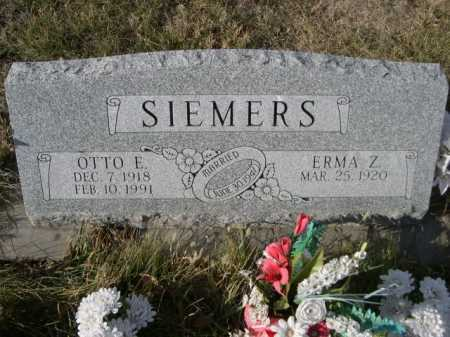 SIEMERS, ERMA Z. - Douglas County, Nebraska | ERMA Z. SIEMERS - Nebraska Gravestone Photos