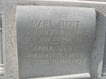SIERT, ANNA - Douglas County, Nebraska | ANNA SIERT - Nebraska Gravestone Photos