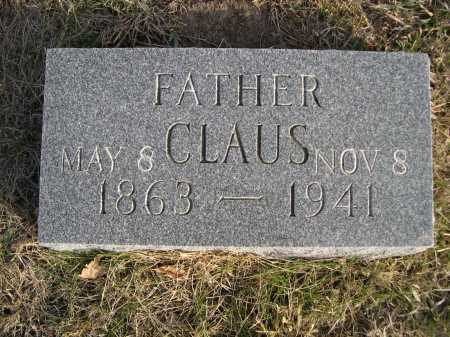 SIEVERS, CLAUS - Douglas County, Nebraska | CLAUS SIEVERS - Nebraska Gravestone Photos