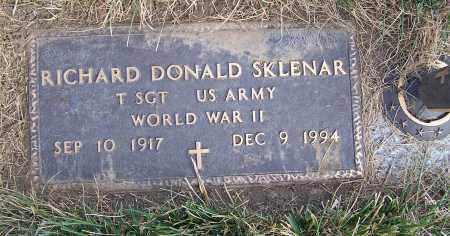 SKLENAR, RICHARD DONALD - Douglas County, Nebraska   RICHARD DONALD SKLENAR - Nebraska Gravestone Photos