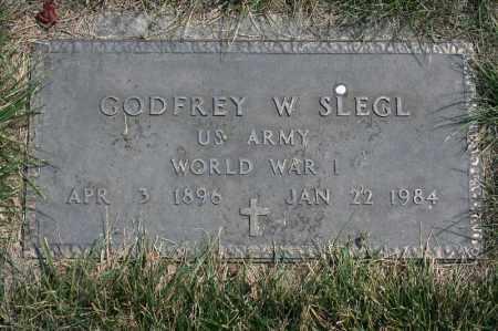 SLEGL, GODFREY W. - Douglas County, Nebraska | GODFREY W. SLEGL - Nebraska Gravestone Photos