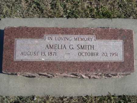 SMITH, AMELIA G. - Douglas County, Nebraska | AMELIA G. SMITH - Nebraska Gravestone Photos