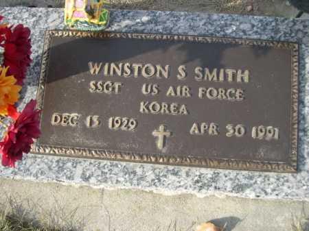 SMITH, WINSTON S. - Douglas County, Nebraska | WINSTON S. SMITH - Nebraska Gravestone Photos