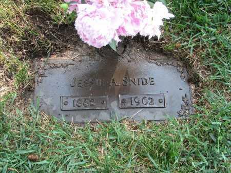 SNIDE, JESSIE ANNA - Douglas County, Nebraska | JESSIE ANNA SNIDE - Nebraska Gravestone Photos