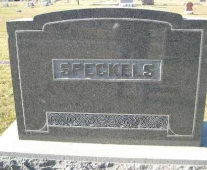 SPECKELS, FAMILY - Douglas County, Nebraska | FAMILY SPECKELS - Nebraska Gravestone Photos