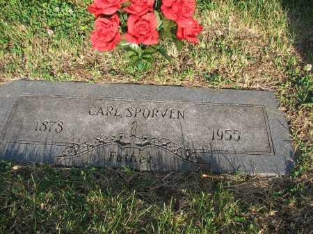 SPORVEN-SPORWIEN, CARL - Douglas County, Nebraska | CARL SPORVEN-SPORWIEN - Nebraska Gravestone Photos