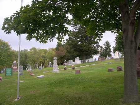 *SPRINGWELL DANISH CEMETERY, VIEW OF - Douglas County, Nebraska | VIEW OF *SPRINGWELL DANISH CEMETERY - Nebraska Gravestone Photos