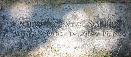 SQUIRES, LOUISE - Douglas County, Nebraska   LOUISE SQUIRES - Nebraska Gravestone Photos