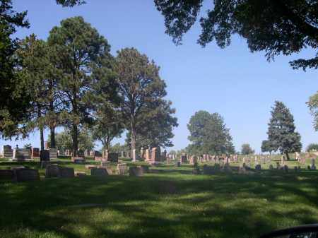 *ST. MARY'S CEMETERY, VIEW OF - Douglas County, Nebraska   VIEW OF *ST. MARY'S CEMETERY - Nebraska Gravestone Photos