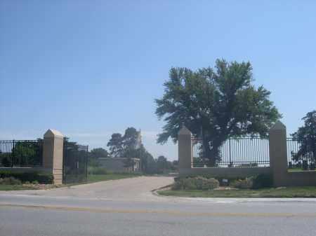 *ST. MARY MAGDALENE CEMETERY, ENTRANCE TO - Douglas County, Nebraska | ENTRANCE TO *ST. MARY MAGDALENE CEMETERY - Nebraska Gravestone Photos