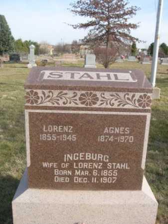 STAHL, LORENZ - Douglas County, Nebraska | LORENZ STAHL - Nebraska Gravestone Photos