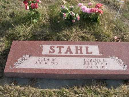 STAHL, LORENZ C. - Douglas County, Nebraska | LORENZ C. STAHL - Nebraska Gravestone Photos