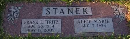 STANEK, FRANK E. - Douglas County, Nebraska   FRANK E. STANEK - Nebraska Gravestone Photos