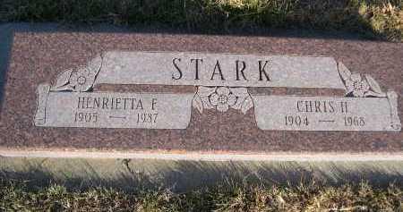 STARK, HENRIETTA F. - Douglas County, Nebraska   HENRIETTA F. STARK - Nebraska Gravestone Photos