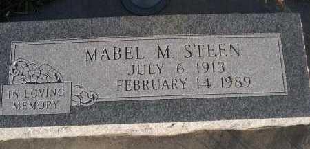 STEEN, MABEL M. - Douglas County, Nebraska | MABEL M. STEEN - Nebraska Gravestone Photos